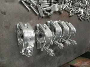 Queda do tubo de andaimes galvanizado Forjados Metade do Acoplador/acoplamento único de 48mm e 60mm de tubo com preço de fábrica