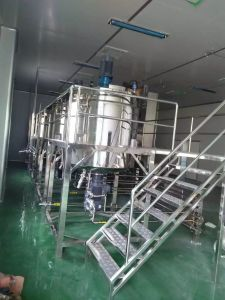 加工産業のためのステンレス鋼の飲料の混合タンク