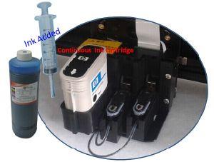 Tracciatore continuo del rifornimento dell'inchiostro dell'indumento HP11