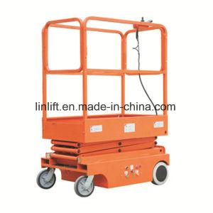 240kg de tijera eléctrica 3m de elevación con certificado CE (JCPTZ306cc)
