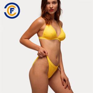 Nuevo estilo de la moda Sexy Bikini sólido de señora traje de baño