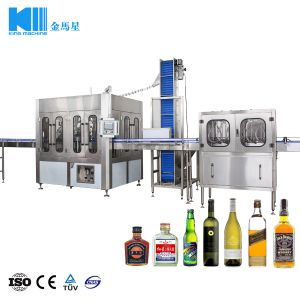 Imbottigliatrice del whisky/imbottigliatrice del whisky/macchina di imbottigliamento del vino