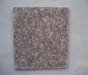 G687安いLuoyuanのモモか舗装する赤い花こう岩のカウンタートップまたは平板の花こう岩または石造りのフロアーリングかタイル