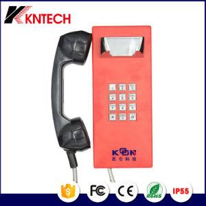 Шоссе чрезвычайной помощи телефонных аппаратов IP для банка с клавиатурой