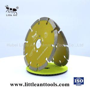 5  /125mm het Graniet Van uitstekende kwaliteit, het Marmeren, Gesinterde Scherpe Blad van de Zaag van de Diamant van Hulpmiddelen