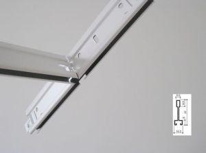 603*603mm603*1212 de fibra mineral acústico suspendido azulejos de techo
