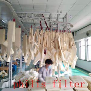 Geslagen Gevoelde Filter van de Polyester van de Filter van de lucht de Materiële/Niet-geweven Naald