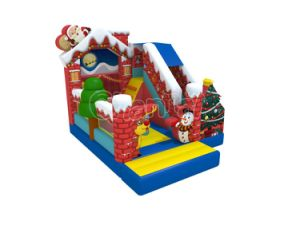 Tienda de Navidad Castillo Hinchables Combo Chb1229