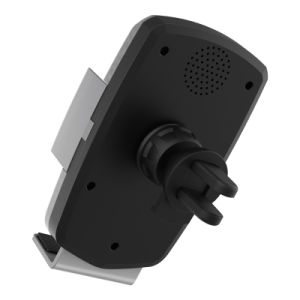 Qi accesorios móvil soporte para teléfono inalámbrico de Control por voz Soporte de coche Cargador de coche para teléfonos