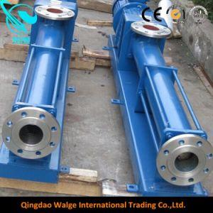 高い粘着性の衛生ステンレス鋼単一ねじモノラルポンプ