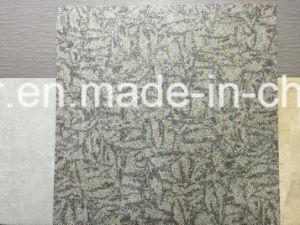 Glace inrayable Lvt carreaux de revêtement de sol en vinyle PVC / sec Retour