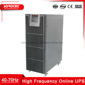 De Hoge Frequentie van de enige Fase 1kVA - 20kVA Macht Online UPS voor Telecommunicatie