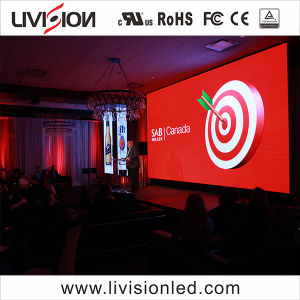 Voyant panneau mural Indoor location vidéo plein écran LED de couleur de haute qualité P4.8 Affichage LED de l'écran pour des événements