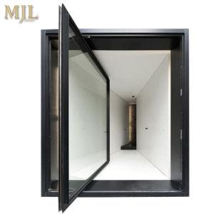 Deur van uitstekende kwaliteit van de Spil van het Frame van het Aluminium de Dubbel Verglaasde
