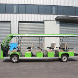Gama de condução elevada autocarro eléctrico de boa qualidade GD17-A17 Venda Quente