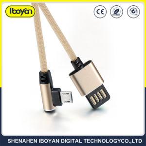 Cavo di carico di micro dati a doppia faccia del USB del telefono mobile