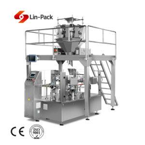 Automatische Roterende Verpakkende Machine voor de Lijn van de Verpakking van het Vaste lichaam en van de Korrel