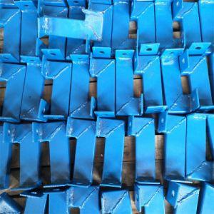 El suministro directo de fábrica izar eléctrico suspendido Self-Climbing andamio con soporte de refuerzo para la construcción de proyecto de construcción