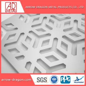 Het aangepaste Stevige Comité van het Aluminium van het Ontwerp voor de Decoratie van de Muur van de Hal van het Hotel