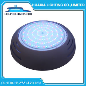 Llenos de resina de protección IP68 Wimming Piscina luces LED con carcasa de ABS