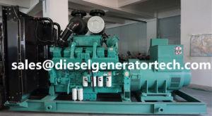 Angeschalten durch Dieselgenerator-elektrischen Generator Genset Cummins- Engine700kw