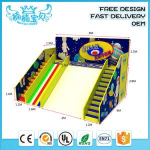 Les enfants Big Diapositive avec piscine à balles pour l'équipement d'attractions intérieur Park Centre