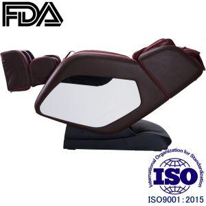 Manipulador automático en 3D Lujo Claret-Red sillón de masaje
