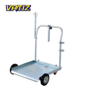 Jeu de la pompe à huile à roues Air-Operated avec enrouleur de tuyau et pistolet d'huile