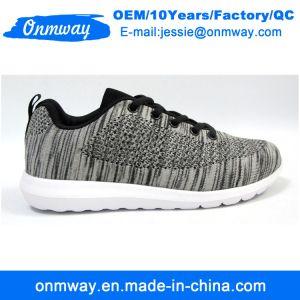 Tejido de la mosca de los hombres zapatos casuales