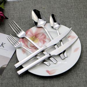 Heavy Duty de espejo pulido cubiertos con cuchillo bistec