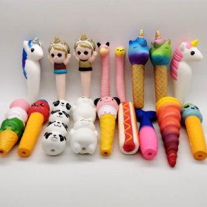 PU Squishy jouets pu ralentir la hausse de plume Squishies Toy Kid Dons libérer le stress