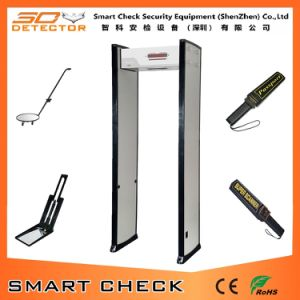戸枠の金属探知器を通る単一のゾーンの金属探知器の歩行