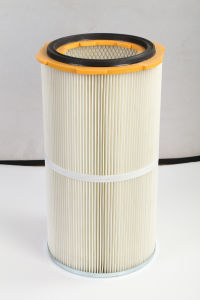 Cabine de pulvérisation de peinture en poudre des filtres à cartouches