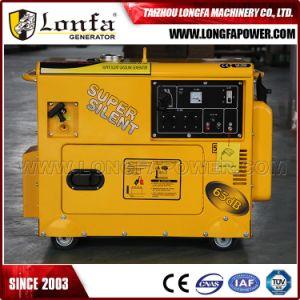 5.5kVA tipo silenzioso eccellente raffreddato ad aria Ce di Wiyn del generatore di Gaosline