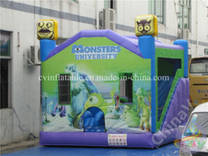 Monster castillo inflable con tobogán, Inflables Jumping Combo
