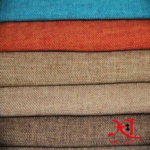 Estofos em tecido de linho têxtil de poliéster almofada decorativa tecido Sofá