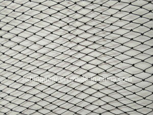 La couleur noire PE Monofilaments filet de pêche pour la pêche s'attaquer