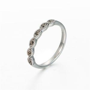 La mode Vintage Silver doigt Ring Bague de femmes très tendance
