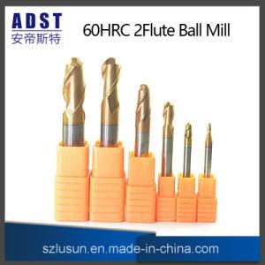 よい価格のタングステンの球の鼻の端製造所60HRCの製粉カッター