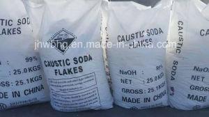 De Vlokken van de Bijtende Soda van het Hydroxyde van het Natrium van de Hoge Zuiverheid van 99%