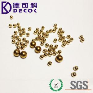 Bola de latón del G10 de 0,5 mm de alto nivel de calidad