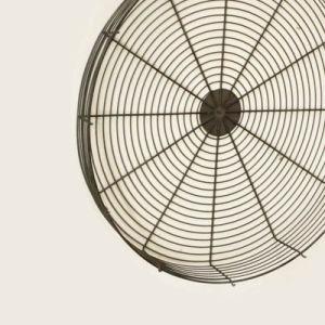 El Zinc protector del ventilador Industrial de acero galvanizado para ventilador de refrigeración
