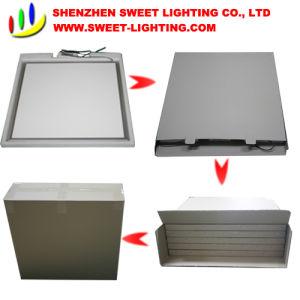 Resistente al agua 36W 600*600mm colgando del techo comercial Plaza de la luz de panel LED para interiores