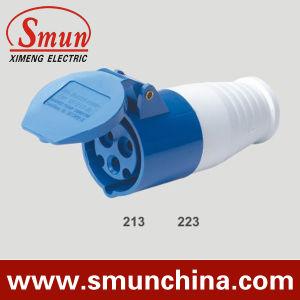 16A 32A 220V 3broches 2P+E IP44 Fiche et prise électrique