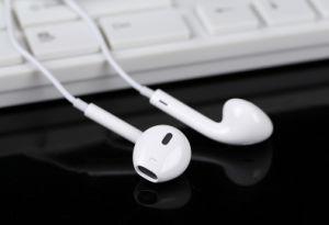 Trasduttore auricolare della cuffia avricolare di originale di 100% per iPhone6/7/7plus con controllo di volume del Mic