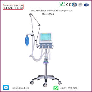 Rendere il prezzo medico del ventilatore della macchina del ventilatore dell'ospedale ICU