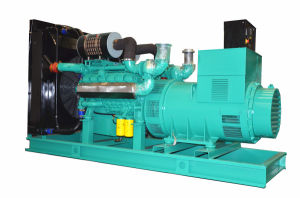 60Hz 600kw 세륨 ISO Approved Diesel Silent Generator Set