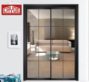 Portello scorrevole di alluminio glassato vendita calda di vetro Tempered del portello di vetro glassato della Cina