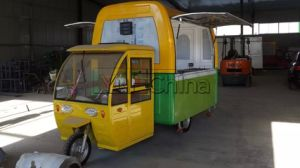 Mobile elektrische Nahrungsmittelkarre mit niedrigem Preis