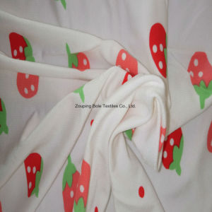 Tela que hace punto/tela de estiramiento impresa reactiva/tela de bambú del paño de la fibra/de bambú de la fibra